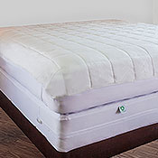CleanRest Quilted MicronOne Convertible Mattress Pads