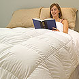 Willoughby Siberian White Goose Down Comforters