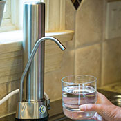 AquaCera HCS Stainless Steel Countertop Water Filter