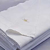 Hand-woven Organic Sport Towels by Doga