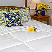 Silk Covered Imperial Silk Comforters