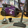 Eureka Mighty Mite Pet Lover Canister Vacuum Cleaner Model 3684F
