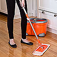 Flymop Spin Mop and Bucket