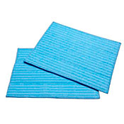 HAAN RMF2X Ultra Clean Microfiber Cleaning Pads (2-Pack) - Blue