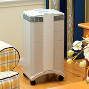 IQAir HealthPro HEPA Air Purifiers (with casters added)