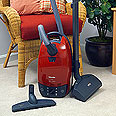 Miele Solaris Direct Connect S514 Mango Red Canister Vacuum Cleaner