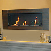 Nu-Flame Finestera Wall-Mount Bio-Fuel Fireplace