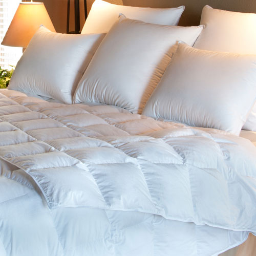 White Avalon Hypodown Hypoallergenic Down Comforter