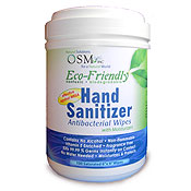 Dragonfly Organix Hand Sanitizer Antibacterial Wipes