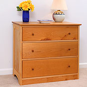 Solid Maple 3 Drawer Dresser