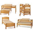 Childrens Beds - 4in1 Loft Beds Sleep System