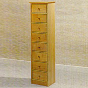 Tall Chest of Drawers - Maple Wood