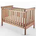 Pacific Rim Solid Wood Maple Cribs