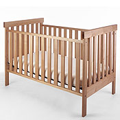 Pacific Rim Arts & Crafts Solid Maple Cribs
