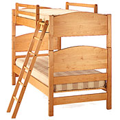 Classic Maple Bunk Bed Set