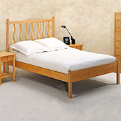 New Wave Solid Maple Wood Beds