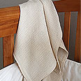 Organic Cotton Waffle Weave Baby Crib Blanket