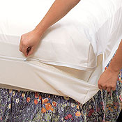White Mountain Textiles Bed Bug Mattress Covers