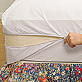 White Mountain Textiles Cotton Deluxe Dust Mite Mattress Encasements