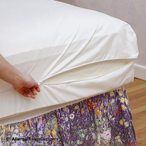 Pristine Dust Mite Amp Allergen Barrier Mattress Cover