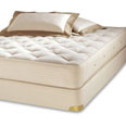 Royal-Pedic Natural Organic Cotton Mattress and Box Spring Set