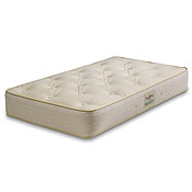 Royal Pedic Natural Organic Cotton Crib Mattress w/ Wool Wrap