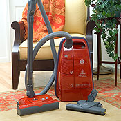 Sebo C3.1 Red Canister Vacuum Cleaners