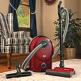 SEBO D4 Red Canister Vacuum Cleaner