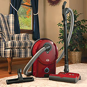 Sebo Airbelt D4 Canister Vacuum Cleaners Red
