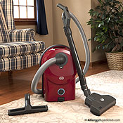 SEBO Airbelt D4 Canister Vacuum Cleaner w/ Turbo Head