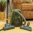 Sebo K2 Hunter Green Canister Vacuum Cleaner with Turbobrush