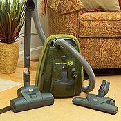 Sebo K2 Hunter Green Canister Vacuum Cleaner with Turbobrush