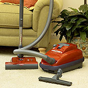Sebo Airbelt K3 Red Canister Vacuum Cleaner