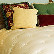 Wool and Silk Comforters