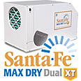 Santa Fe Max Dry Dual XT Dehumidifiers