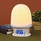 Verilux Rise Amp Shine Natural Wake Up Light And Alarm Clock