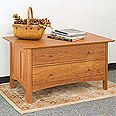 New England Wood Chatham 2-Drawer Blanket Chest