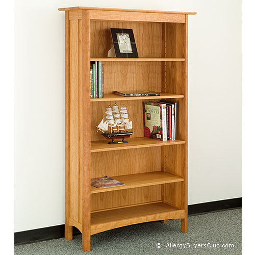 solid wood 5 shelf bookcases allergybuyersclub. Black Bedroom Furniture Sets. Home Design Ideas