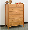New England Wood Chatham 7-Drawer Dresser