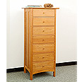 New England Wood Chatham Tall 7-Drawer Chest