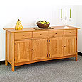 Dining Room Long Sideboard