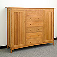 New England Wood Chatham Blanket Chest