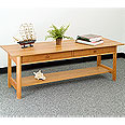 New England Wood Chatham 2-Drawer Coffee Table