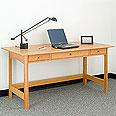 New England Wood Library Desk