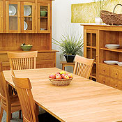 New England Wood Dining Room Tables