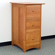 New England Wood Chatham 3-Drawer File Cabinets
