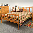 New England Wood Newton Bed