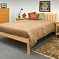 New England Wood Rockport Bed