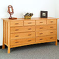 Weston 10-Drawer Wide Dresser