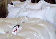 Serenity Siberian White Goose Down Comforter